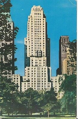 Vintage Postcard ESSEX HOUSE NYC