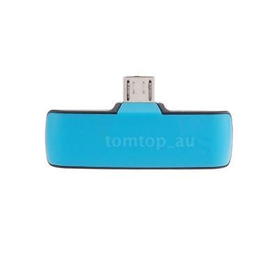 Mini IR Wireless Infrared Remote Controller Adapter for OTG Android Samsung Blue