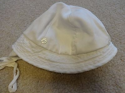 Vintage White Baby or Doll Hat
