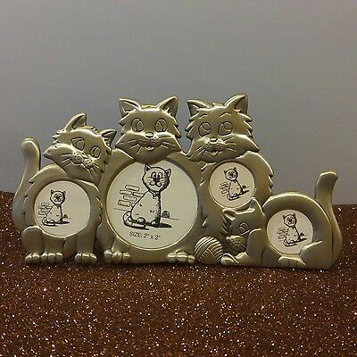 Metal Kitty Cat Picture Frame So Cute
