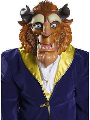 Adult's Deluxe Disney Beauty And The Beast Mask Costume Accessory