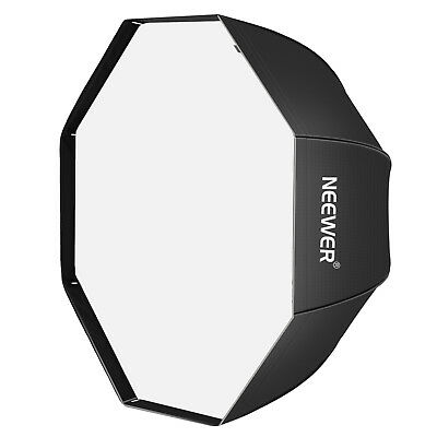 Neewer Ombrello Softbox Ottagonale 120cm con Borsa per Flash Speedlight Ritratti