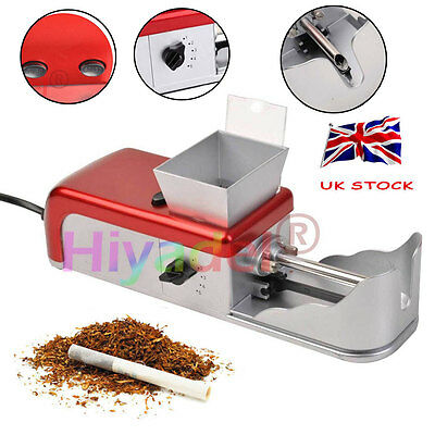 Cigarette Rolling Machine Electric Automatic Tobacco Roller Injector Maker UK #F