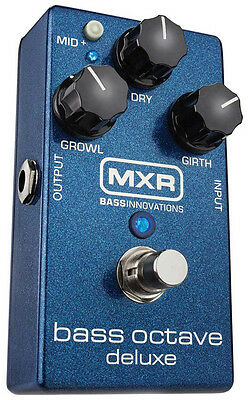 MXR M288 Bass Octave Deluxe Effect Pedal (NEW)