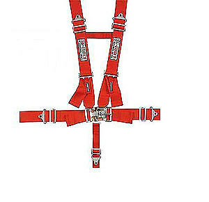 G-FORCE 6030RD Pro-Series Latch & Link 5-Point H-Type Harness