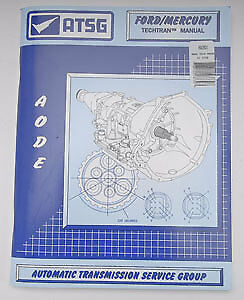 TCI 892801 Transmission Technical Manual