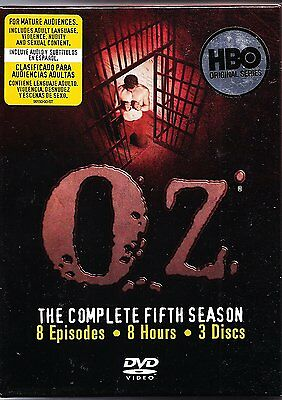 Oz - The Complete Fifth Season (DVD, 2016, 3-Disc Set) LIKE NEW