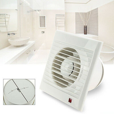 Intervent White Extractor Fan Air Vent Electric For Kit Kitchens & Bathroom DG37