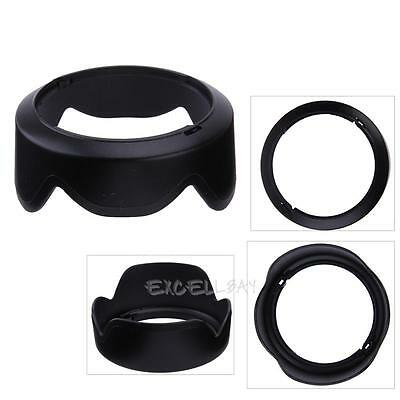 EW-53 Reversible Camera Lens Hood for Canon EF-M 15-45mm f/3.5-6.3 IS STM