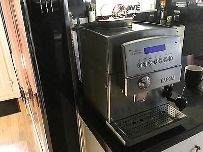 gaggia titanium plus bean to cup automatic coffee machine with milk frother. Black Bedroom Furniture Sets. Home Design Ideas
