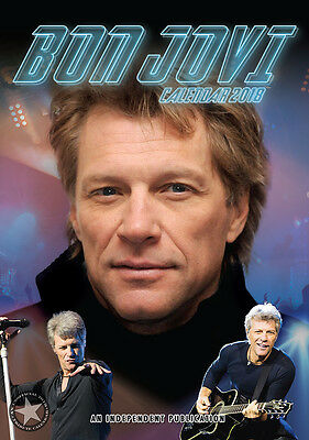 Bon Jovi Kalender  2018 (Dream) Neu