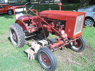 International Farmall 140 Tractor With Woods Deck