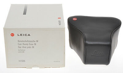 Leica 14505, borsa pronto ready case per Leica M6, exc++++ condition