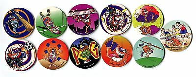 POGS - T-POGMAN-LE 11 004 Lot de 11 Pogs POGMAN Limited Edition WPF (No double)