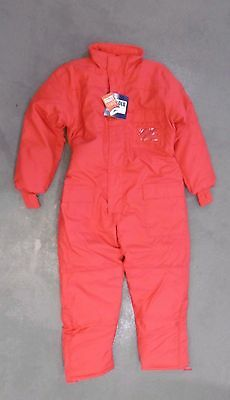 Portwest CS12 Red Thermal Cold Store Refrigeration Coverall XL L4 CA4