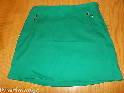 Junior Girl Scout Uniform Kelly Green SKIRT 00165 Size 14 or 00166 Size 16