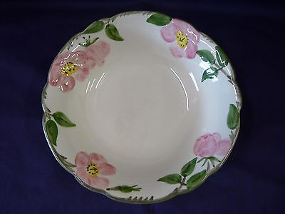 "Franciscan China Desert Rose Pattern Usa Round Vegetable Bowl 8"" Older Mark"