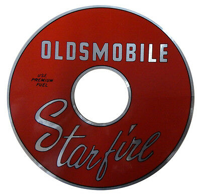 1961 1962 1963 1964 Oldsmobile Starfire Air Cleaner Decal