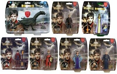 The Adventures of Merlin - Complete Set of all 7 Action Figures - NEW
