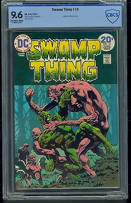 Swamp Thing #10 (1974) CBCS Graded 9.6 ~ Bernie Wrightson ~ Not CGC