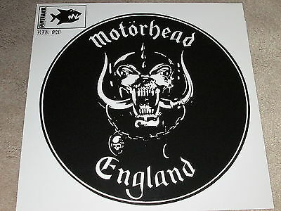 "Motorhead - Leaving Here / White Line Fever - Numbered 12"" Single"