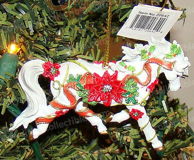 Poinsettia Ornament (Horse of a Different Color by Westland, 20642) Arabian