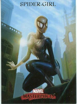 Marvel Masterpieces 2007 Base Card #78 Spider-Girl