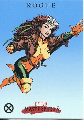 Marvel Masterpieces 2007 X-Men Chase Card X7 Rogue