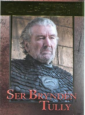 Game Of Thrones Season 6 Gold Base Card #93 Ser Brynden Tully