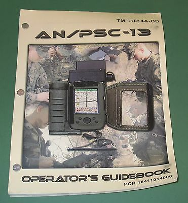 US Military Issue AN/PSC-13 Guidebook Dismounted Data Communication Terminal