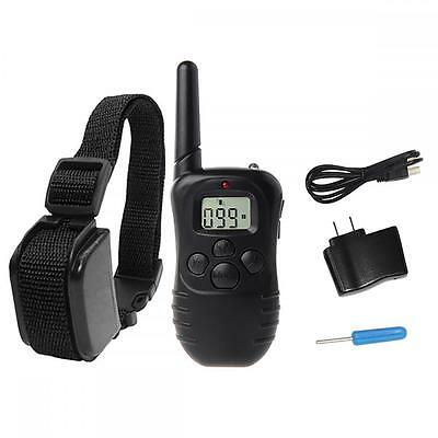 330 Yard Electric Remote Dog Training Collar Rechargeable Shock Collar