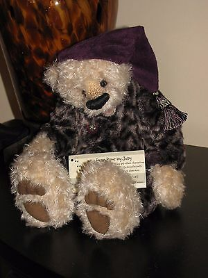 Happy Open Mouth Bear w Faux Leopard Body~ Jody Tokioka ~ Bear Paws by Jody