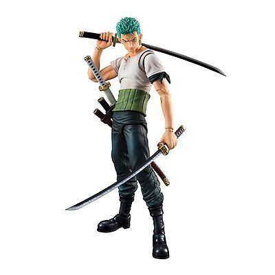 MegaHouse Variable Action Heroes One Piece Series Roronoa Zoro Past Blue w/Bonus