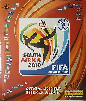 Panini official Sticker Album FIFA World Cup South Africa 2010 komplett (1)