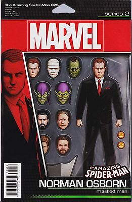 AMAZING SPIDER-MAN (2015) #25 Action Figure VARIANT Cover