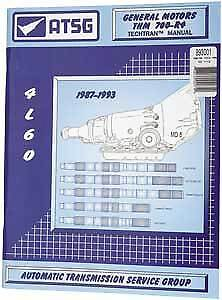 TCI 893001 Transmission Technical Manual