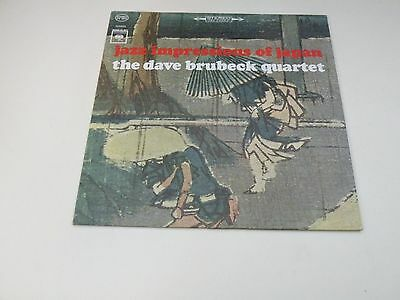 The Dave Brubeck Quartet -Jazz Impressions Of Japan - Lp Columbia Made In U.s.a.