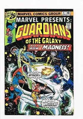 Marvel Presents # 4  Guardians Galaxy series  grade 7.0 scarce book !!