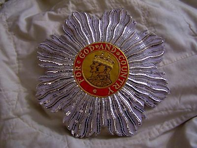 British Britain BEF UK Medal O.B.E. Empire Knight Cape Robe Officer Crest Order