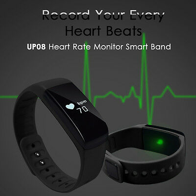 Sport Bluetooth Smart Watch Heart Rate Monitor Health Exercise Bracelet AC641