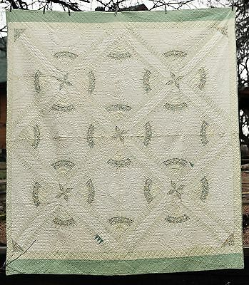 "Vintage ""New York Beauty"" - Very Rare and Beautiful Quilt - A MUST SEE!"