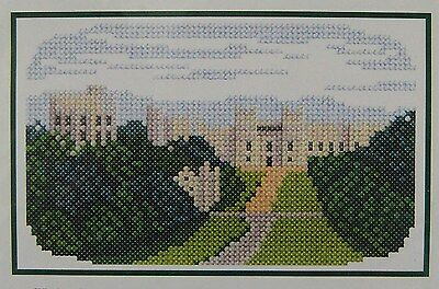 IPS Windsor Castle Counted Cross Stitch Kit MB074