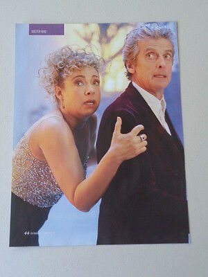Peter Capaldi  Alex Kingston  -  Dr Who                       Picture  (FTG51)