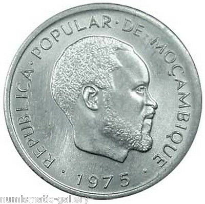 Mozambique 1 Centimo 1975 Unc = 1-Year Type =