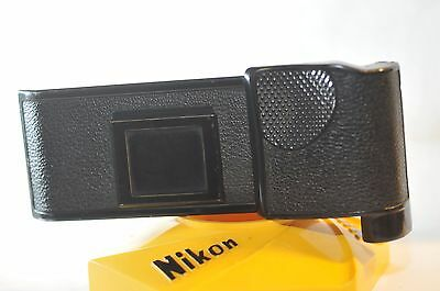 Nikon MF-3 back for F2 cameras w/ MD-1 MD-2 Motor Drive RARE leaded out