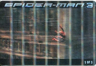 Spiderman 3 The Movie Ritz Bits Lenticular Card #1