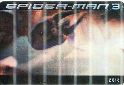 Spiderman 3 The Movie Ritz Bits Lenticular Card #2
