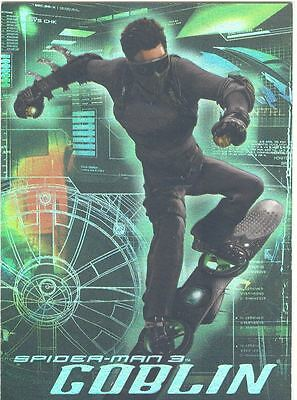 Spiderman 3 The Movie The Goblin Chase Card G3
