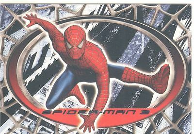 Spiderman 3 The Movie Red/Blue Spiderman Chase Card R4