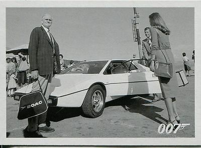James Bond Archives 2015 The Spy Who Loved Me Throwback Chase Card #45